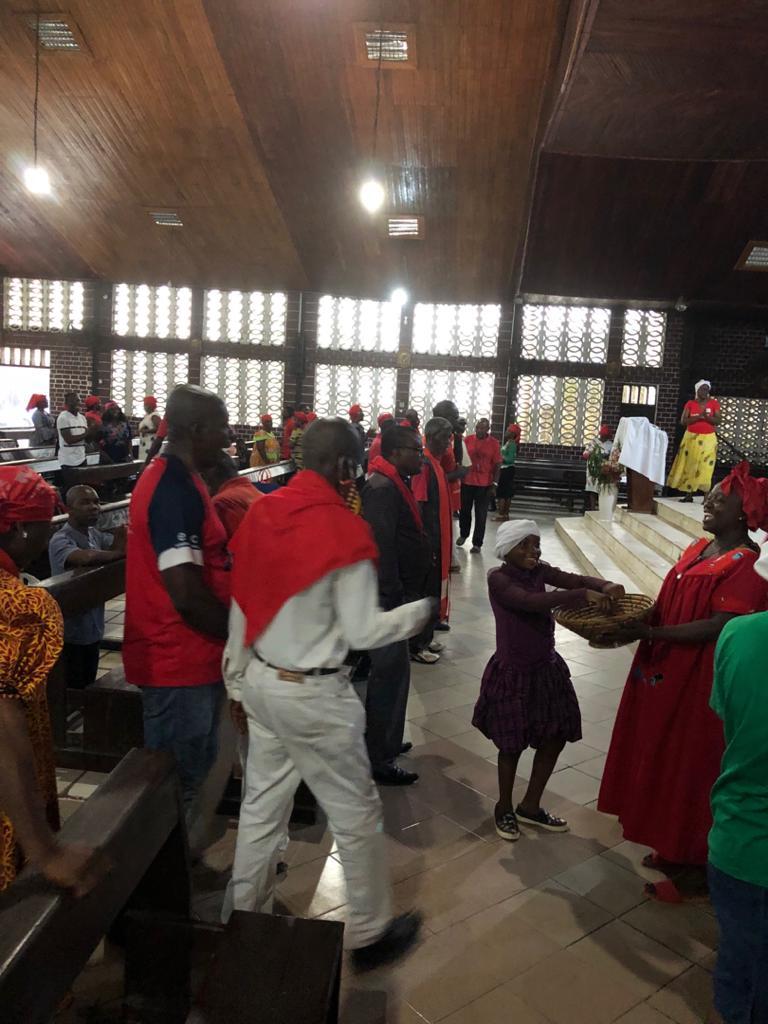 Préparatifs du 44eme anniversaire, le Père Ndebi galvanise ses brebis