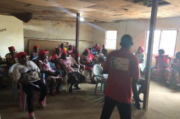 L'inspection numéro 6 dans les murs de St Victor de Sodikombo