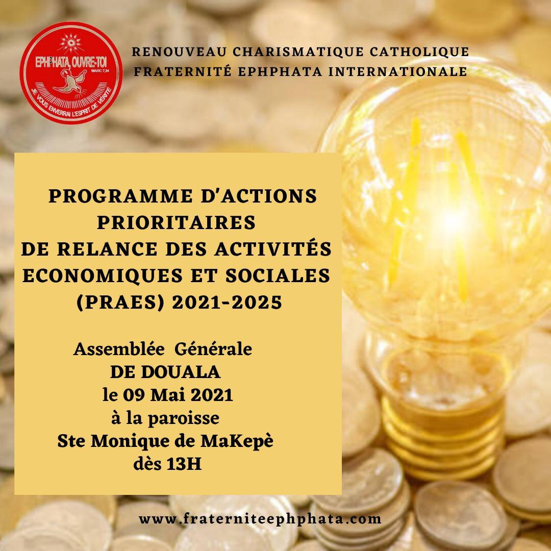 Programmes d'actions prioritaires douala